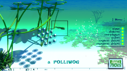 Markerboard Jungle Frogs screenshot - A Polliwog
