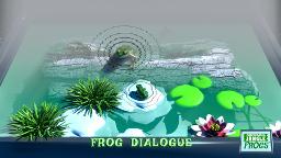 Markerboard Jungle Frogs screenshot - Frog dialogue